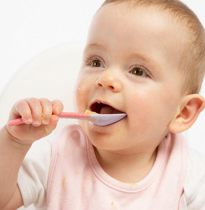 baby food iron