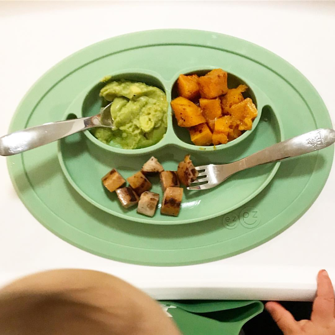 holiday baby led weaning meal