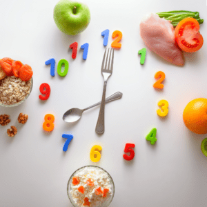 Help your child & implement a toddler feeding schedule, toddler meal plan (1 year of age)