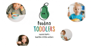 Pictured is a banner advertisement for the Feeding Toddlers Online Course by My Little Eater™