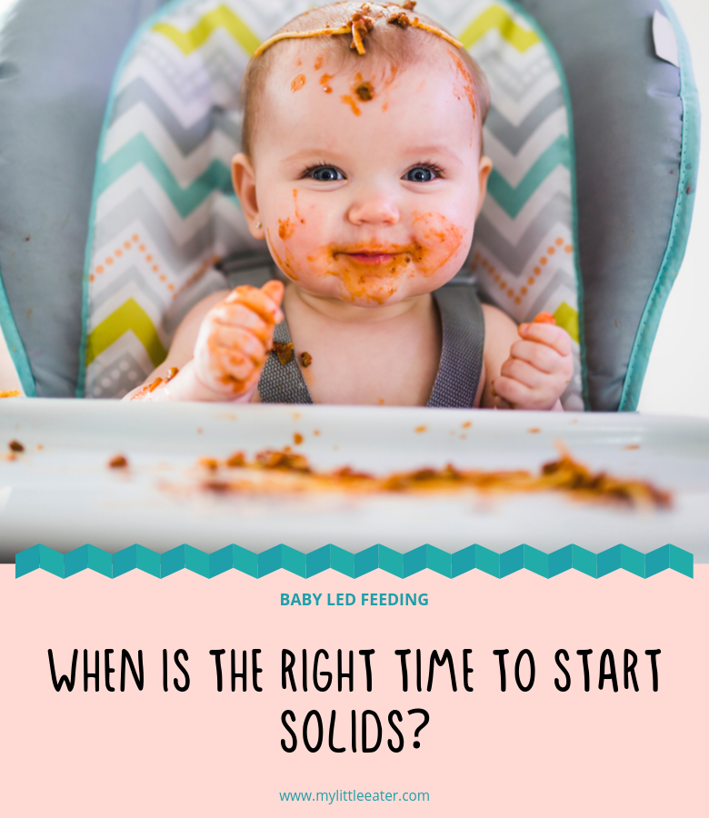 When is the right time to start solids