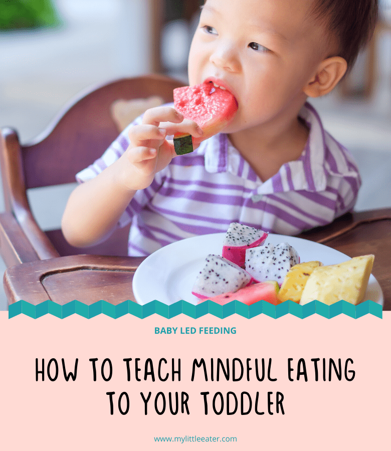 how to teach mindful eating to your toddler