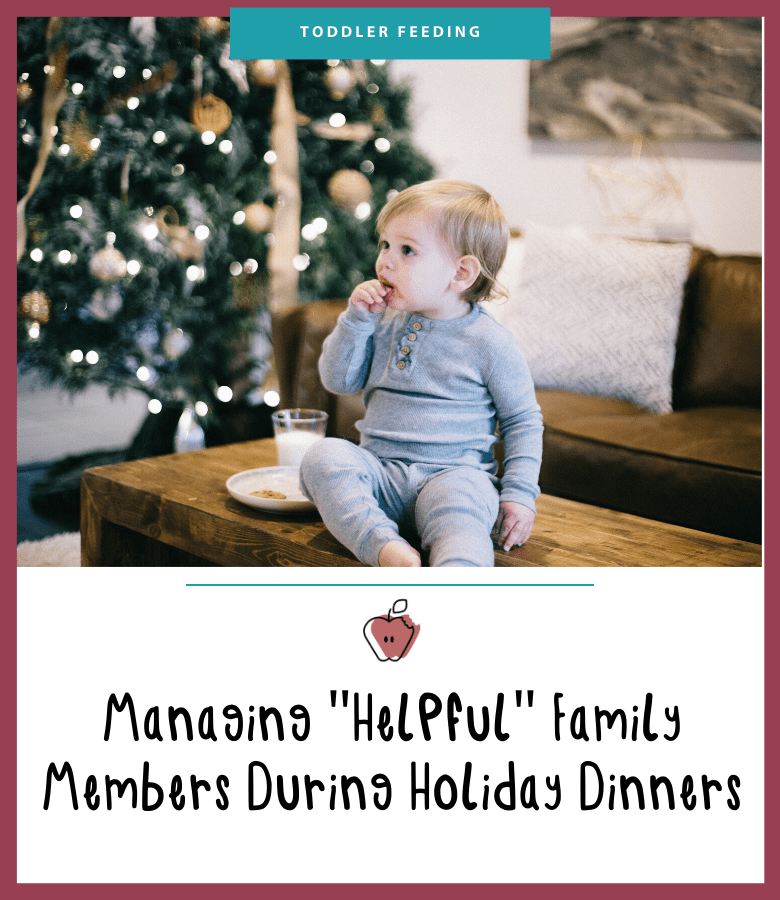 managing helpful family members during the holidays