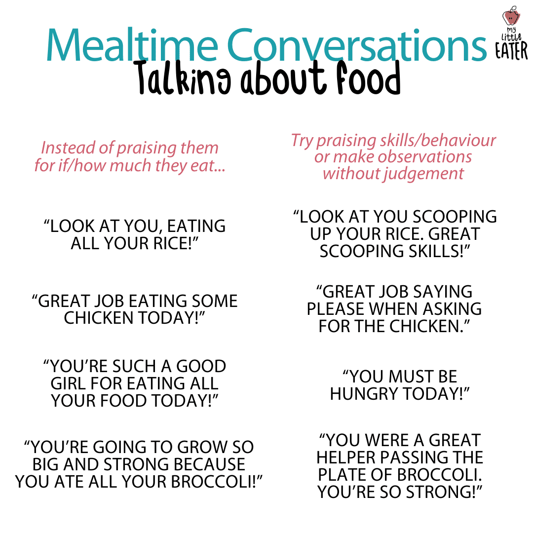 mealtime conversations with toddlers