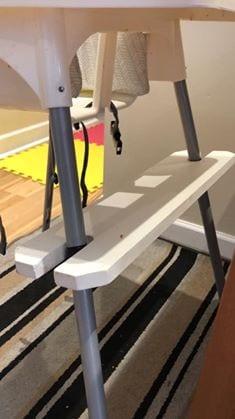 Ikea hacks foot rest