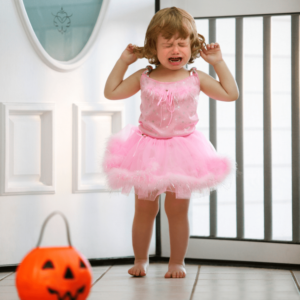 Managing halloween treats for toddlers
