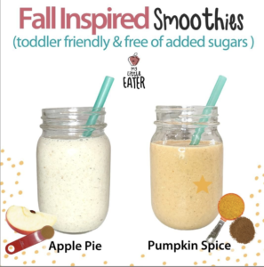 apple pie smoothie toddlers
