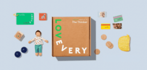 Lovevery subscription box.