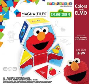 Elmo Magna-tiles.