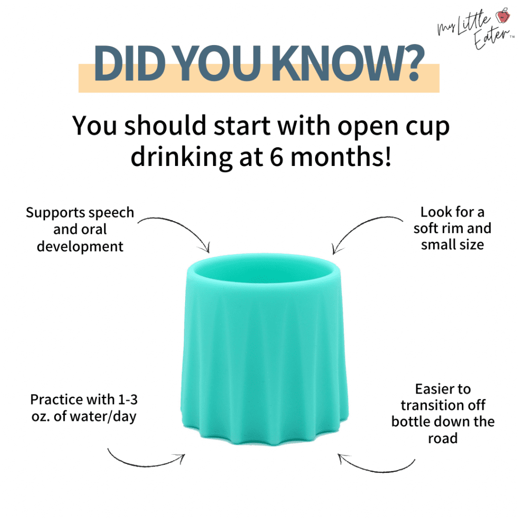 Open cup graphic- pictured Eztotz My First Cup.