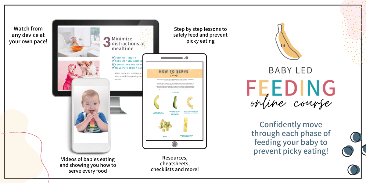 My Little Eater™ - Baby Led Feeding online course