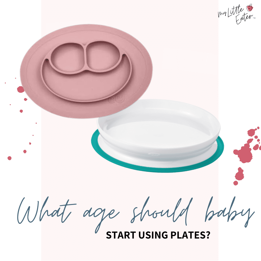 Instagram: @mylittleeater Topic: What age should babies start using plates?
