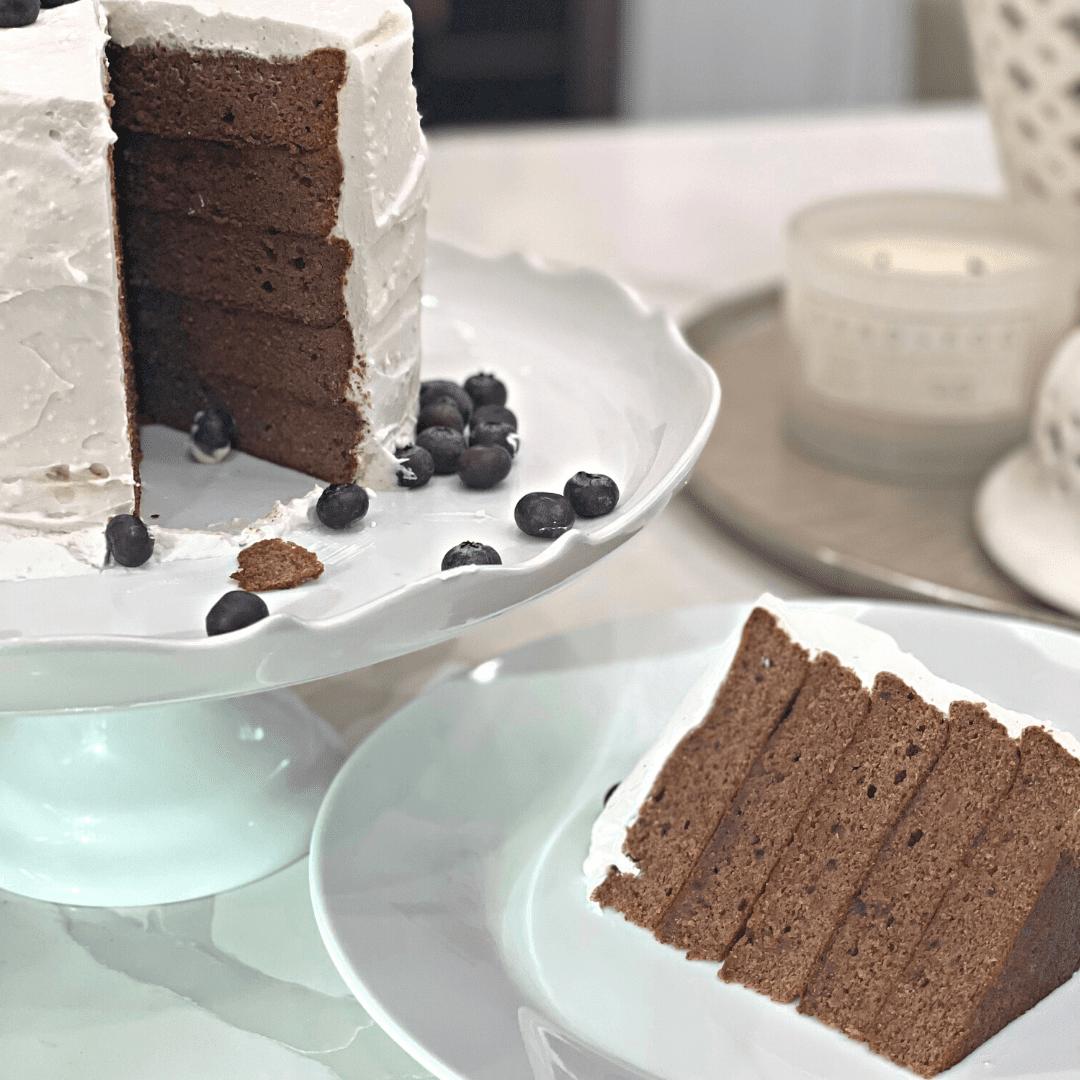 moist fluffy healthy smash cake